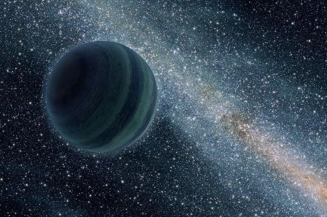 Wizja artystyczna samotnej planety 2MASS J1119–1137 /materiały prasowe