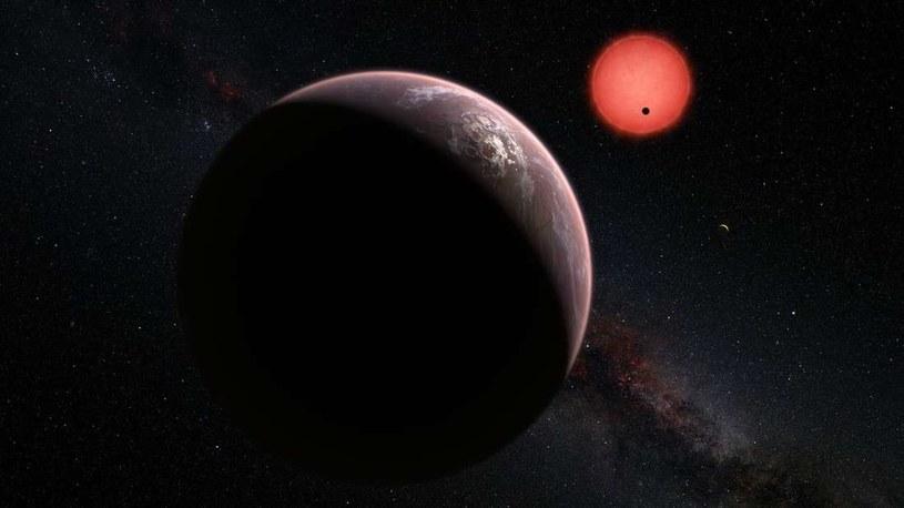 Wizja artystyczna układu TRAPPIST-1 /materiały prasowe