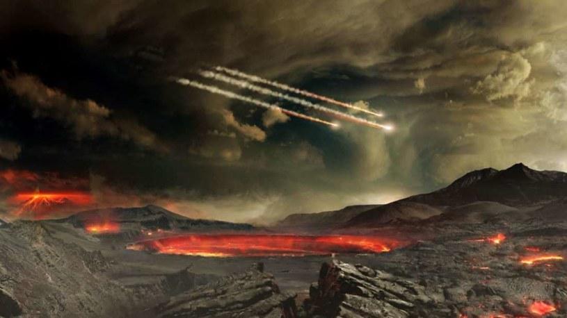 Wizja artystyczna wczesnej Ziemi /NASA