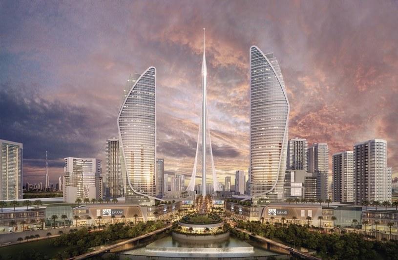 Wizja Dubai Creek Tower autorstwa Santiago Calatravy /materiały prasowe