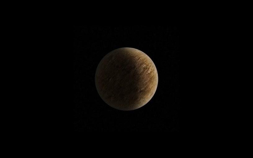 Wizja małej skalistej egzoplanety. Źródło: K. Kanawka /Kosmonauta