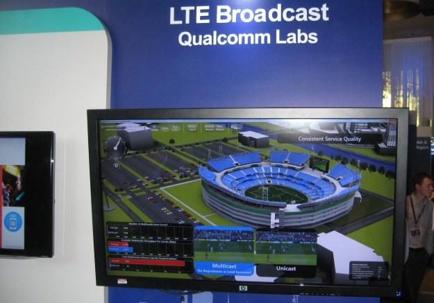 Wizualizacja działania LTE Broadcast /INTERIA.PL