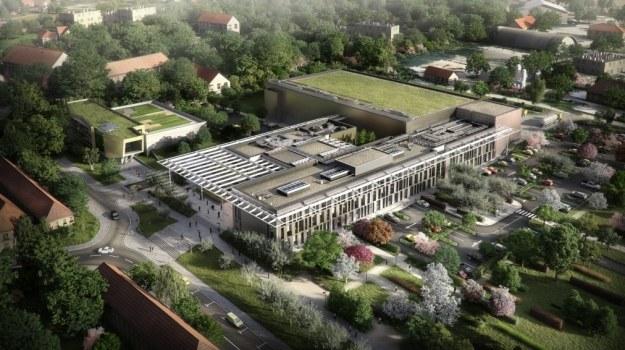 Wizualizacja kompleksu Extreme Light Infrastructure       Fot. eli-beams.eu /materiały prasowe