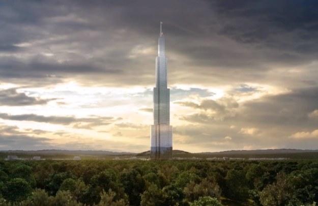 Wizualizacja Sky City /materiały prasowe