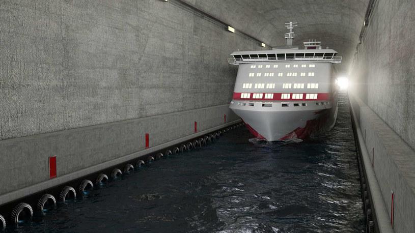 Wizualizacja Stad Ship Tunnel /materiały prasowe