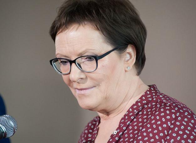 Wizyta Premier Ewy Kopacz w Slupsku /Marcin Kamiński /East News
