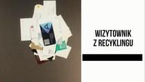 Wizytownik z recyklingu