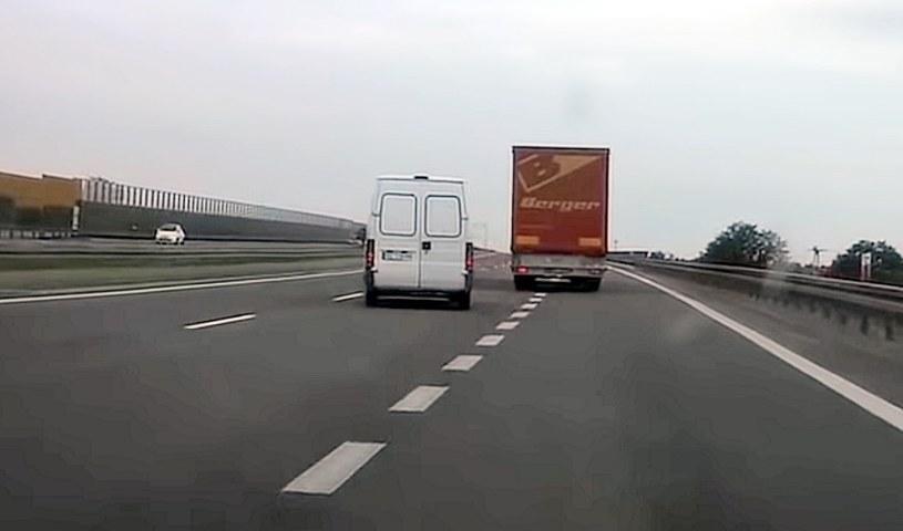Wjeżdżanie na autostradę nie jest manewrem trudnym /