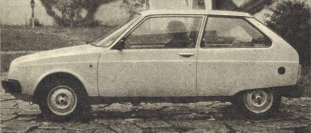 Wkrótce ten nowy samochód rumuński ma się pojawić na rynkach krajów socjalistycznych, wzbogacając ofertę handlową. Aerodynamiczna sylwetka pozwala osiągać dość duże prędkości maksymalne, zużycie paliwa byłoby zapewne niższe, gdyby zdecydowano się na silniki chłodzone cieczą. /Motor