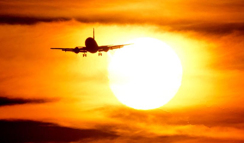 Wkrótce - ze względu na upał - niektóre samoloty nie będą w stanie wystartować? /AFP