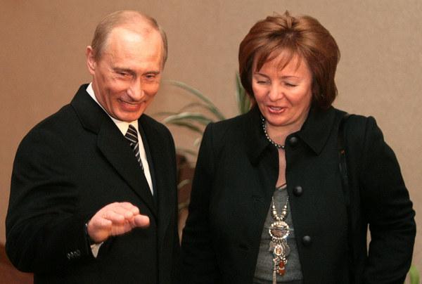 Władimir i Ludmiła Putinowie, zdjęcie z 2008 roku /AFP