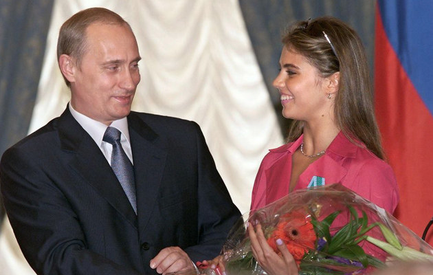 Władimir Putin, Alina Kabajewa /East News