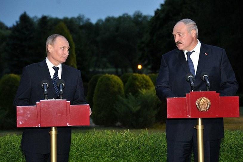Władimir Putin i Alaksandr Łukaszenka /Laski Diffusion /East News