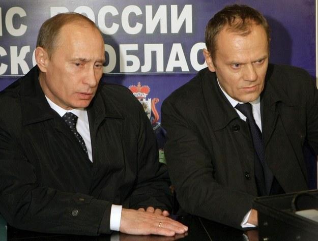 Władimir Putin i Donald Tusk /AFP