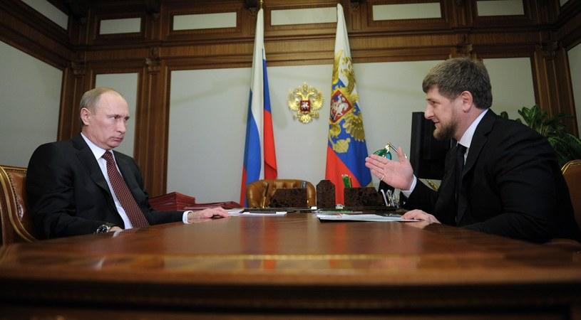 Władimir Putin i Ramzan Kadyrow /AFP
