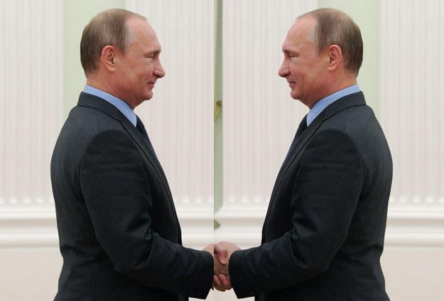 Władimir Putin i Władimir Putin: Wskaż różnice fot. Michael Klimentyev / RIA NOVOSTI /AFP