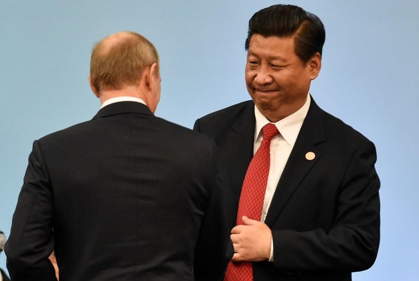 Władimir Putin i Xi Jinping /AFP