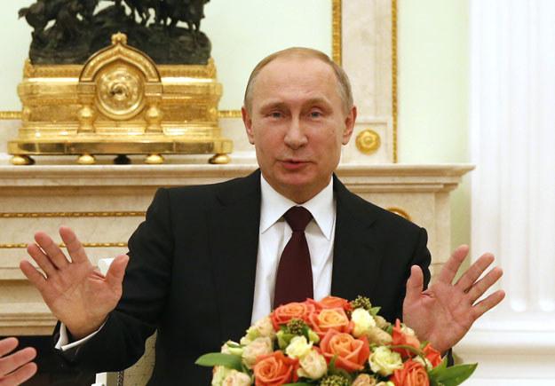 """""""Władimir Putin ma świadomość, że posiada przewagę"""" fot. Maxim Zmeyev /AFP"""