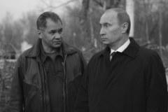 Władimir Putin na miejscu katastrofy