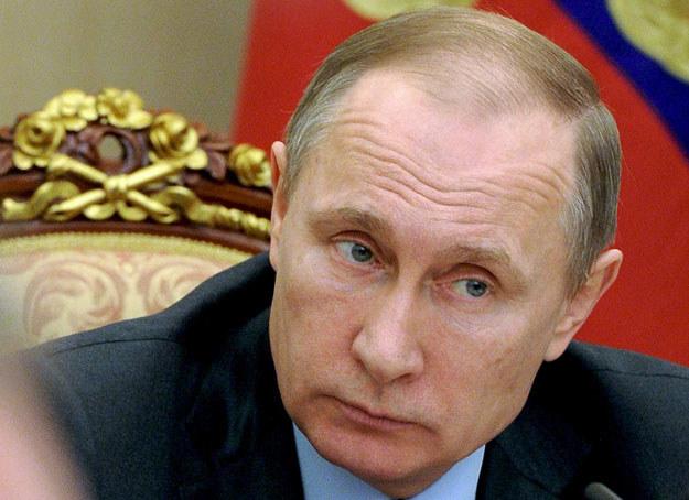 Władimir Putin nie pozostawia już nikomu wątpliwości co do strategii działania /AFP