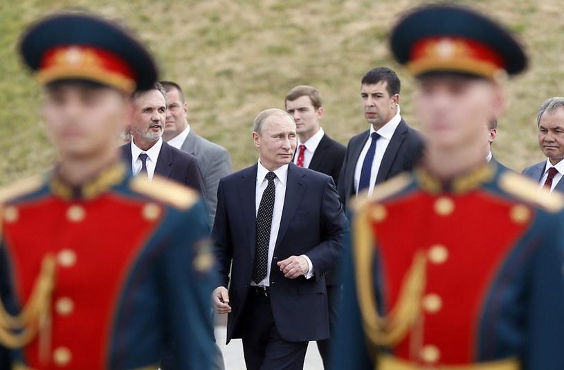 Władimir Putin podczas obchodów 100. rocznicy wybuchu I wojny światowej /PAP/EPA