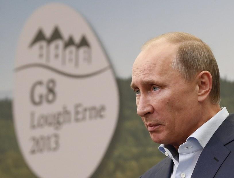 Władimir Putin podczas szczytu G8 w ubiegłym roku /AFP