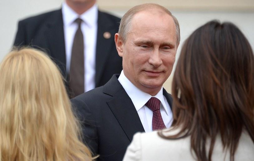 Władimir Putin podczas wizyty w Austrii /AFP