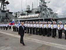 Władimir Putin w Noworosyjsku