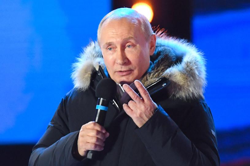 Władimir Putin wygrał wybory prezydenckie w Rosji /Kirill Kudryavtsev /AFP