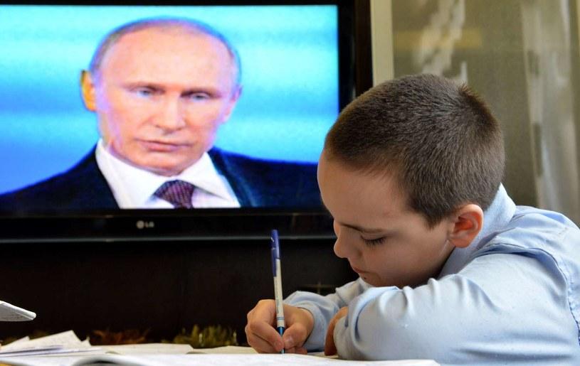 Władimir Putin wzywa do poprawy patriotyzmu młodych Rosjan /AFP