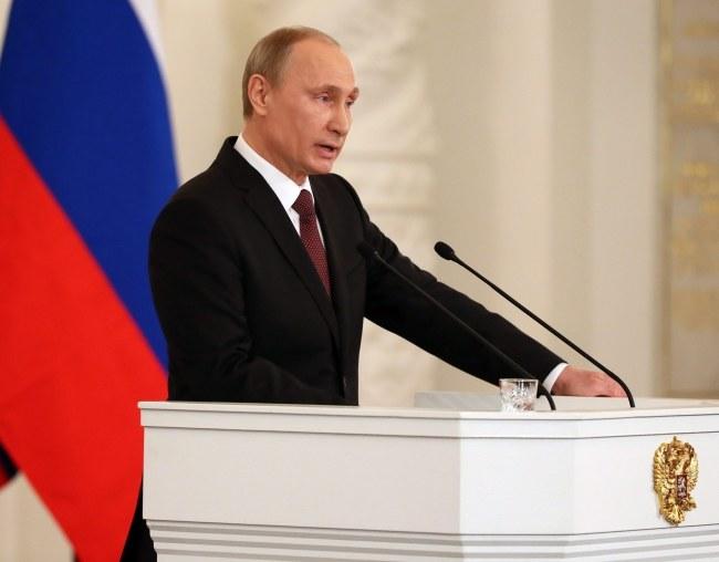 Władimir Putin /SERGEI ILNITSKY / POOL /PAP/EPA