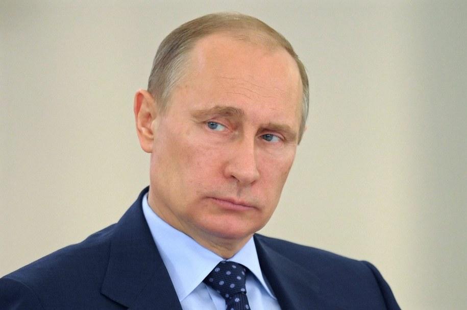 Władimir Putin //ALEXEY DRUZHINYN / RIA NOVOSTI / KREMLIN POOL /PAP/EPA