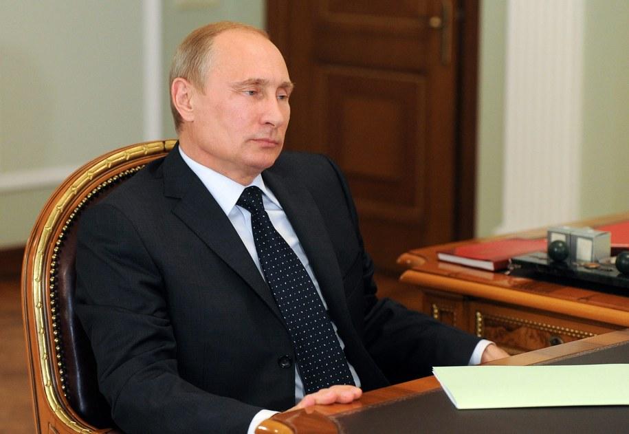 Władimir Putin /MIKHAIL KLIMENTIEV/RIA NOVOSTI/KREMLIN POOL /PAP/EPA