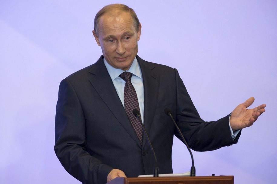 Władimir Putin /ALEXANDER ZEMLIANICHENKO/POOL    /PAP/EPA
