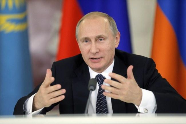 Władimir Putin /PAP/EPA/MAXIM SHIPENKOV /PAP/EPA