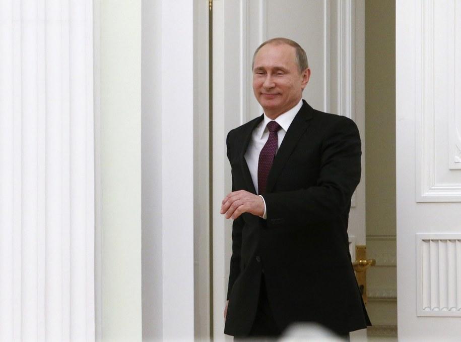 Władimir Putin /SERGEI KARPUKHIN /PAP/EPA