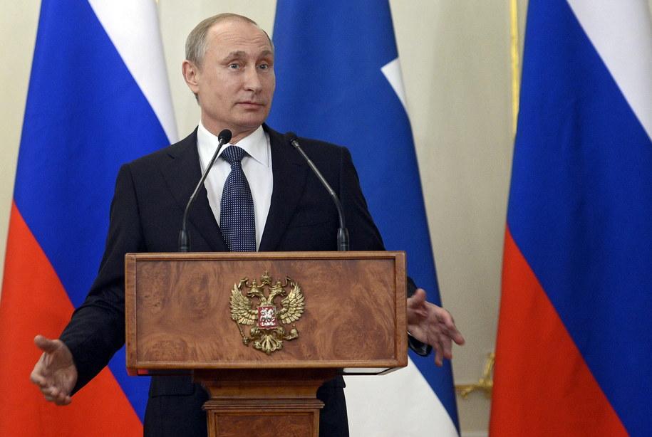 Władimir Putin /ALEXANDER NEMENOV /PAP/EPA