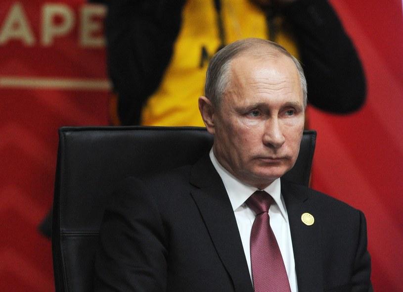Władimir Putin /MIKHAIL KLIMENTYEV/SPUTNIK/KREMLIN /PAP/EPA