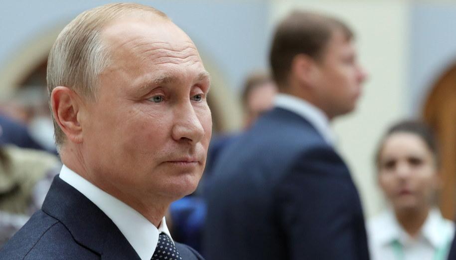 Władimir Putin /MICHAEL KLIMENTYEV/SPUTNIK/KREMLIN POOL / POOL /PAP/EPA