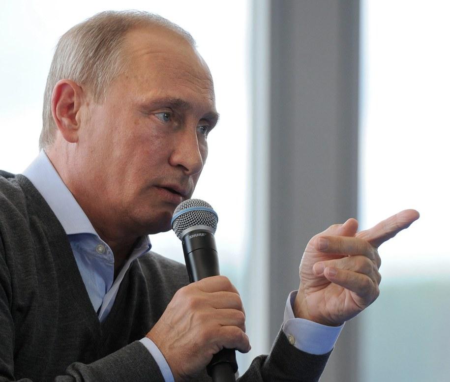 Władymir Putin /MIKHAIL KLIMENTIEV / RIA NOVOSTI / KREMLIN POOL /PAP/EPA