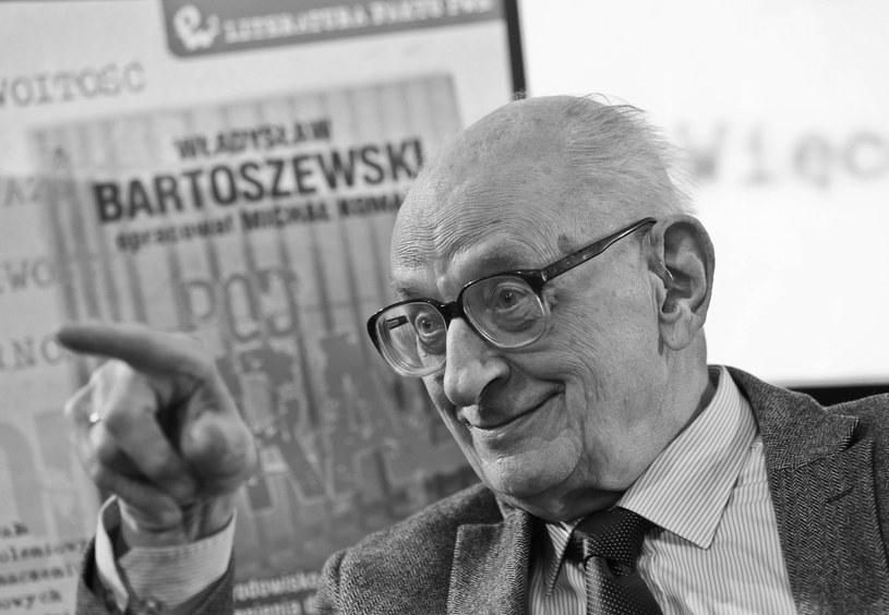 Władysław Bartoszewski /Rafał Guz /PAP