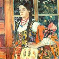 Władysław Jarocki, Dziewczyna-góralka, 1913 /Encyklopedia Internautica