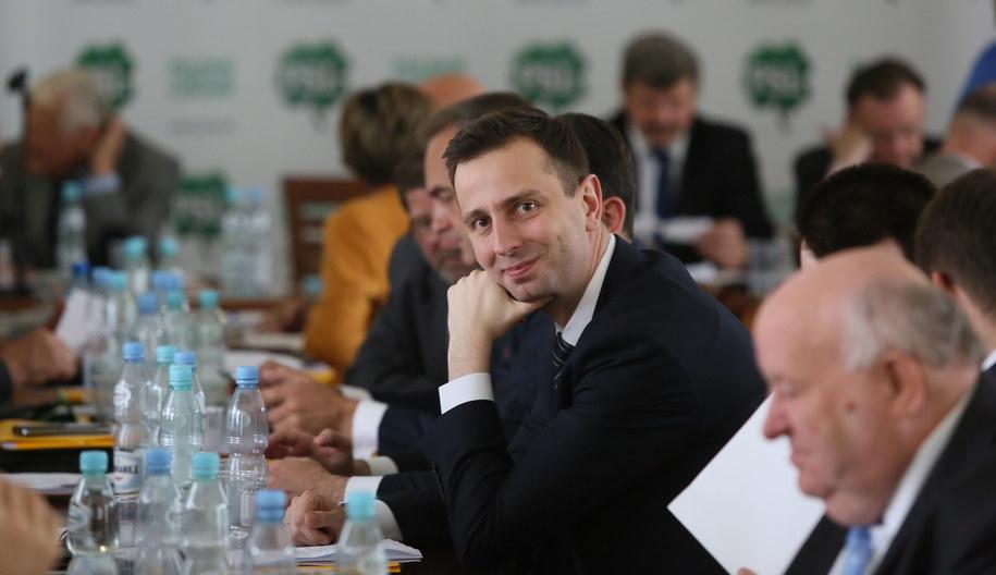 Władysław Kosiniak-Kamysz, podczas obrad Rady Naczelnej PSL /Tomasz Gzell /PAP