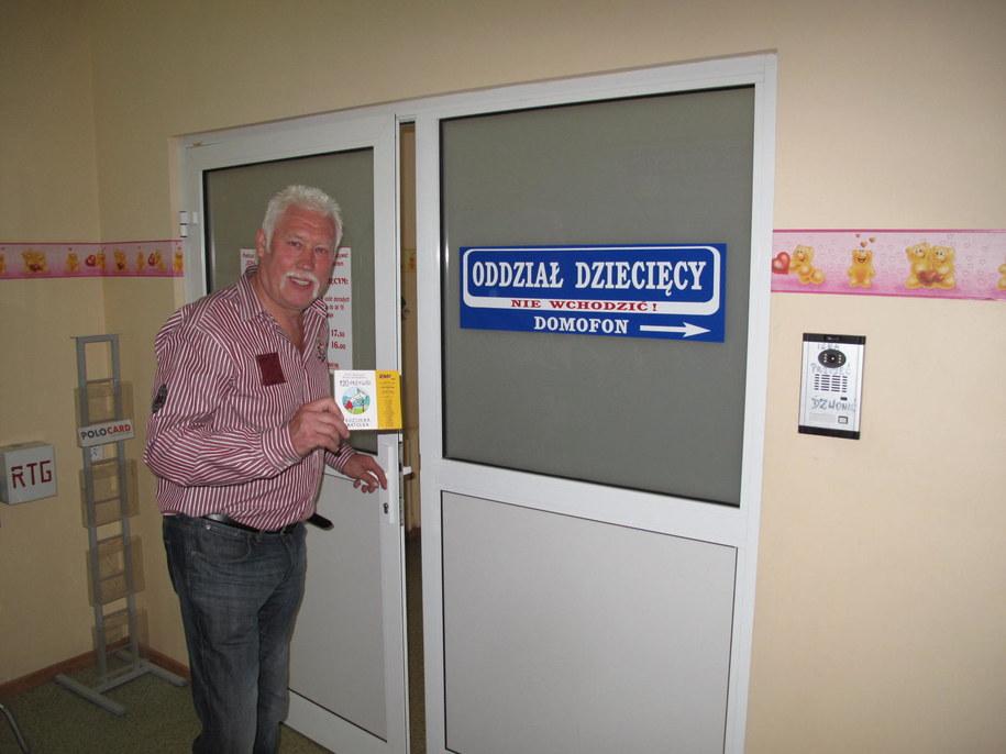 Władysław Kozakiewicz w szpitalu na Wyspie w Żarach /Adam Górczewski /RMF FM