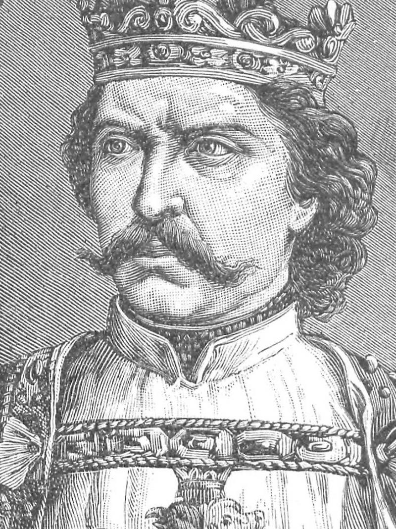 Władysław Łokietek na portrecie Ksawerego Pillatiego (domena publiczna) /Ciekawostki Historyczne