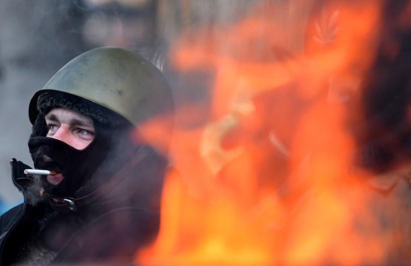 Władze użyją miotaczy ognia przeciw protestującym? /AFP