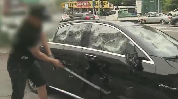 Właściciel niszczy nowego Mercedesa S63 AMG /