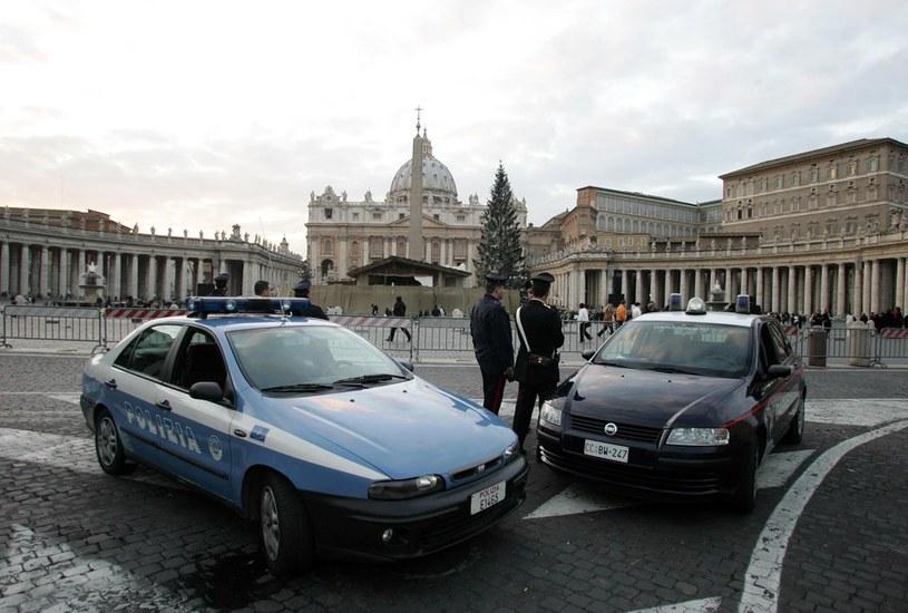 Włoch podpalił się dziś rano na Placu św. Piotra. /A. Franceschi/Iberpress /Reporter