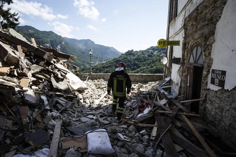 Włochy po trzęsieniu ziemi /ANGELO CARCONI /PAP/EPA