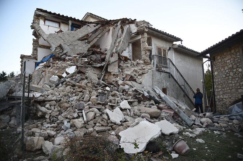 Włochy są nadal zagrożone trzęsieniami ziemi /AFP